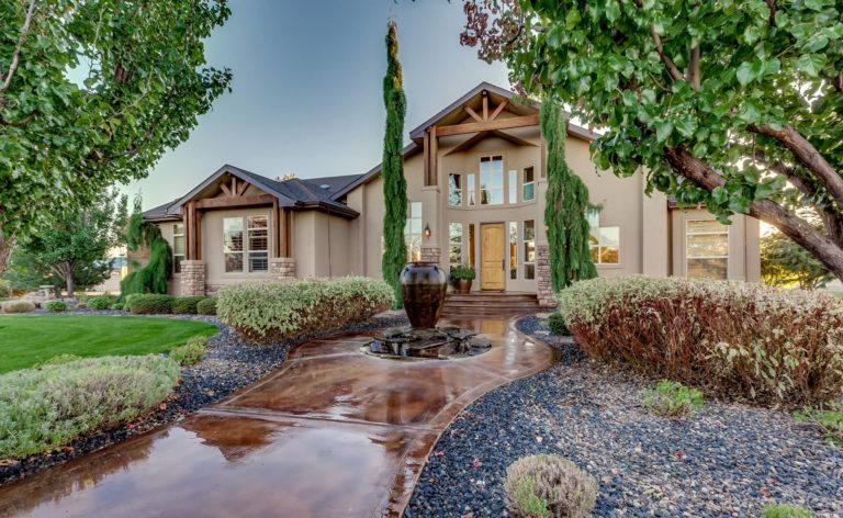 Applecreek 5 acre home with Baseball field listed with Alei Merrill