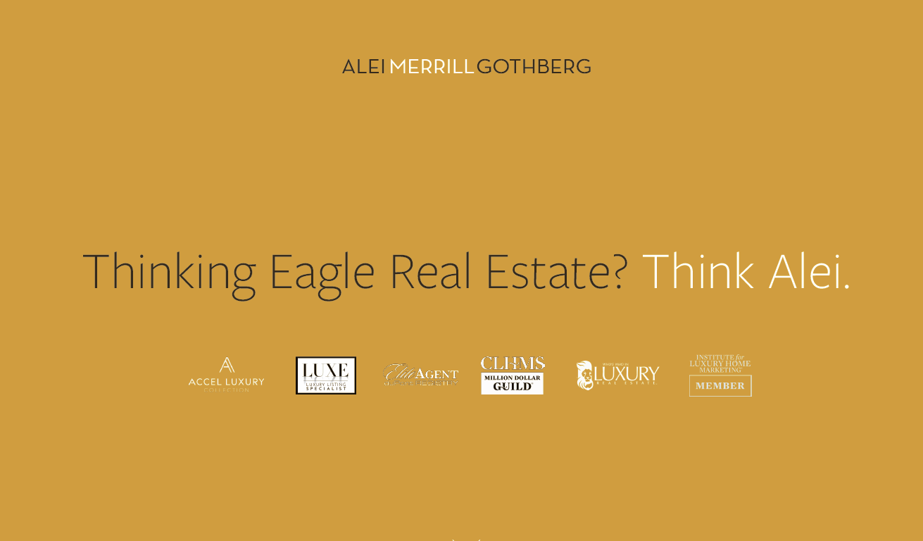 Image of Best Eagle Real Estate Company slogan