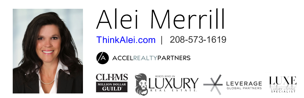 Thinking Real Estate. Think Alei Image Signature