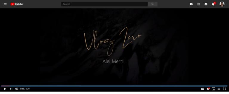 Alei Merrill Vlog